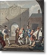The Gate Of Calais, Or O The Roast Beef Metal Print