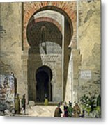 The Gate Of Justice Metal Print