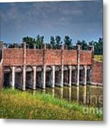 The Gates Are Open Metal Print