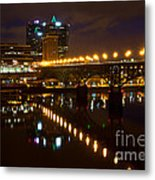 The Gay Street Bridge Metal Print