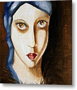 The Gaze Metal Print by Simona  Mereu