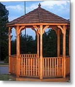 The Gazebo Metal Print
