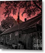 The General Store In Luckenbach Texas Metal Print by Susanne Van Hulst