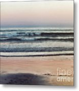 The Gentle Sea Metal Print