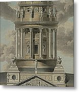 The German Cathedral On The Gendarmenmarkt Metal Print