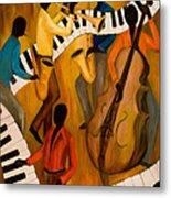 The Get-down Jazz Quintet Metal Print