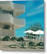 The Getty Panel 1 Metal Print