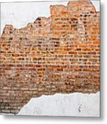 The Ghost Behind The Wall Metal Print