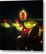 The Ghost Of The 3 Eyes Metal Print