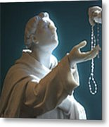 The Gift Of A Rosary Metal Print