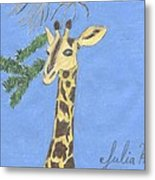The Giraffe Metal Print