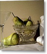 The Glass Is Empty Metal Print