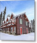 The Glory Of Winter's Chill Metal Print