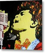 The God Father Of Soul James Brown Metal Print