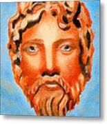 The God Jupiter Or Zeus.  Metal Print