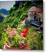 The Godfather Villages Of Sicily Metal Print