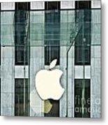 The Golden Apple Metal Print