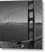 The Golden Gate Bridge Metal Print