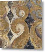 The Golden Ornaments Metal Print
