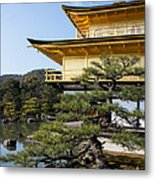 The Golden Temple Of Kyoto Japan Metal Print