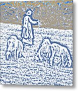 The Good Shepherd 2 Metal Print
