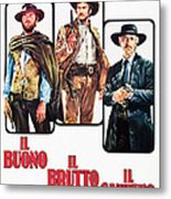 The Good, The Bad And The Ugly, Clint Metal Print