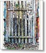 The Goose Gate Metal Print