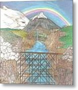 The Gorge Metal Print