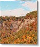 The Gorge In Autumn Metal Print