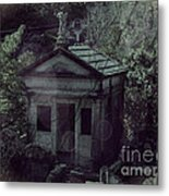 The Gothic Cemetery Metal Print