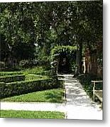 The Govenor's Gardens Metal Print