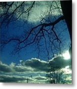 The Grace Of An Embrace Metal Print