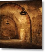 San Jose Mission Granary Metal Print