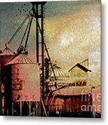 The Granary Metal Print by R Kyllo