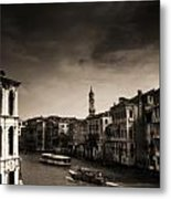 The Grand Canal Metal Print by Aaron Bedell
