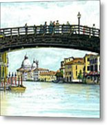 The Grand Canal Venice Italy Metal Print