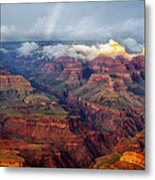 The Grand Canyon After The Storm Metal Print