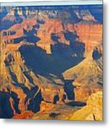 The Grand Canyon From Outer Space Metal Print