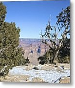 The Grand Canyon In January Metal Print