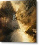 The Grand Canyon Of Yellowstone Metal Print