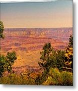 The Grand Canyon Vintage Americana Iv Metal Print