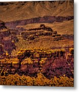 The Grand Canyon Vintage Americana Viii Metal Print