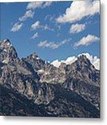 The Grand Tetons - Grand Teton National Park Wyoming Metal Print
