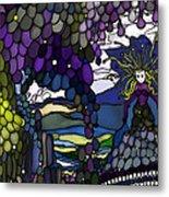 The Grape Arbor Medusa Metal Print by Constance Krejci