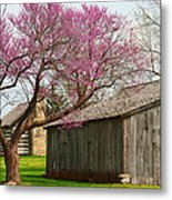 The Gray Campbell Farmstead Metal Print
