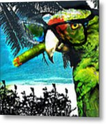 The Great Bird Of Casablanca Metal Print