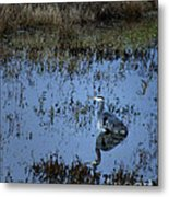 The Great Blue Calm Metal Print