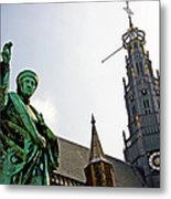 The Great Church Of Haarlem Metal Print