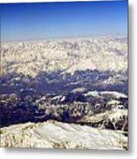 The Great Himalayas- Viator's Agonism Metal Print