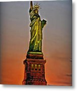 The Great Lady Metal Print